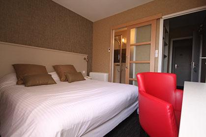 Chambre double - Hotel d'Arçins
